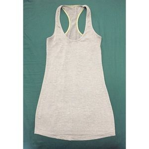 Lululemon Grey Tank Top